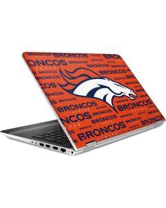 Denver Broncos Orange Blast HP Pavilion Skin
