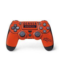Denver Broncos Orange Performance Series PS4 Controller Skin
