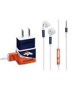Denver Broncos Phone Charger Skin