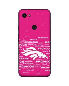 Denver Broncos Pink Blast Google Pixel 3a Skin
