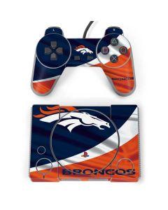 Denver Broncos PlayStation Classic Bundle Skin