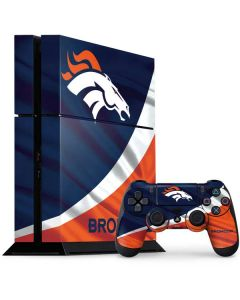 Denver Broncos PS4 Console and Controller Bundle Skin