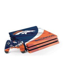 Denver Broncos PS4 Pro Bundle Skin