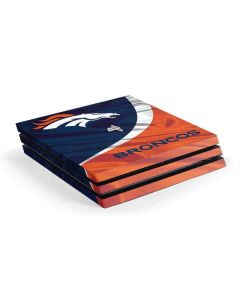 Denver Broncos PS4 Pro Console Skin