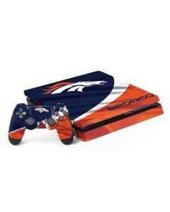 Denver Broncos PS4 Slim Bundle Skin