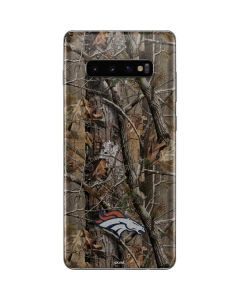 Denver Broncos Realtree AP Camo Galaxy S10 Plus Skin