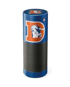 Denver Broncos Retro Logo Amazon Echo Skin