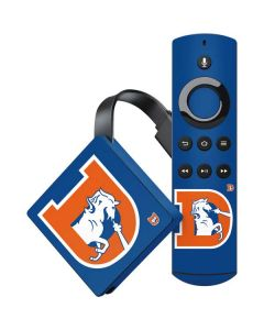 Denver Broncos Retro Logo Amazon Fire TV Skin