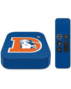 Denver Broncos Retro Logo Apple TV Skin