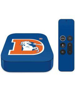 Denver Broncos Retro Logo Apple TV Skin