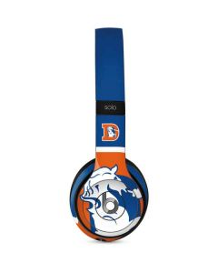 Denver Broncos Retro Logo Beats Solo 2 Wired Skin