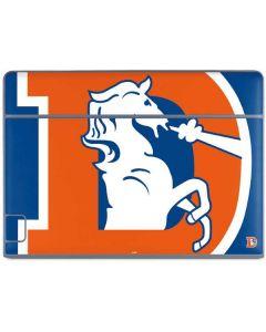 Denver Broncos Retro Logo Galaxy Book Keyboard Folio 10.6in Skin