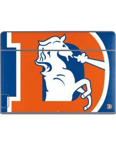 Denver Broncos Retro Logo Galaxy Book Keyboard Folio 12in Skin