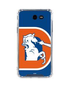 Denver Broncos Retro Logo Galaxy J7 (2017) Clear Case