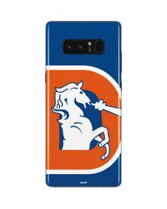Denver Broncos Retro Logo Galaxy Note 8 Skin