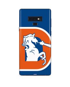 Denver Broncos Retro Logo Galaxy Note 9 Skin