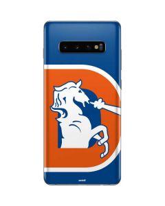 Denver Broncos Retro Logo Galaxy S10 Plus Skin