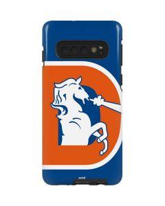 Denver Broncos Retro Logo Galaxy S10 Pro Case