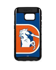 Denver Broncos Retro Logo Galaxy S7 Edge Cargo Case