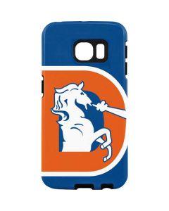 Denver Broncos Retro Logo Galaxy S7 Edge Pro Case