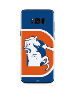 Denver Broncos Retro Logo Galaxy S8 Plus Skin