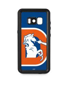 Denver Broncos Retro Logo Galaxy S8 Plus Waterproof Case