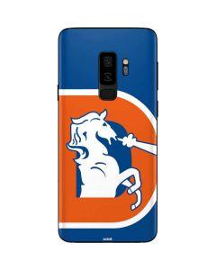Denver Broncos Retro Logo Galaxy S9 Plus Skin