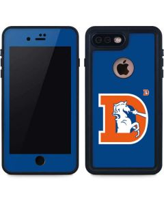Denver Broncos Retro Logo iPhone 7 Plus Waterproof Case
