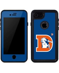 Denver Broncos Retro Logo iPhone 8 Waterproof Case