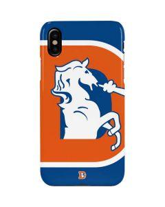 Denver Broncos Retro Logo iPhone XS Lite Case