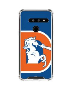 Denver Broncos Retro Logo LG G8 ThinQ Clear Case
