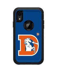 Denver Broncos Retro Logo Otterbox Defender iPhone Skin