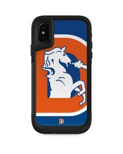 Denver Broncos Retro Logo Otterbox Pursuit iPhone Skin