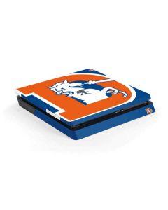 Denver Broncos Retro Logo PS4 Slim Skin