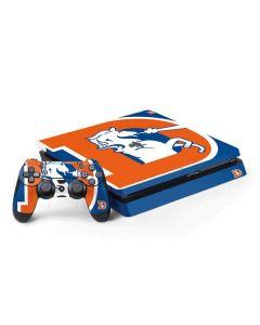 Denver Broncos Retro Logo PS4 Slim Bundle Skin