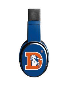 Denver Broncos Retro Logo Skullcandy Crusher Wireless Skin