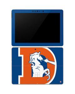 Denver Broncos Retro Logo Surface Go Skin