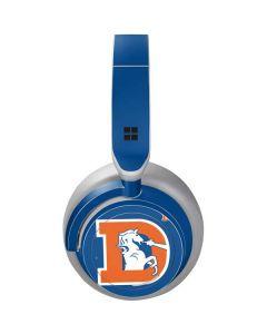 Denver Broncos Retro Logo Surface Headphones Skin