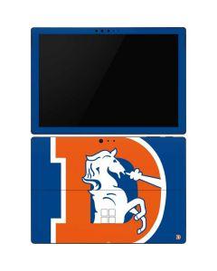 Denver Broncos Retro Logo Surface Pro 6 Skin