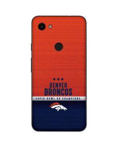 Denver Broncos Super Bowl 50 Champions Google Pixel 3a Skin