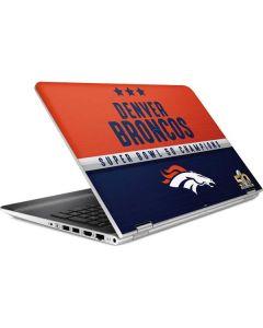 Denver Broncos Super Bowl 50 Champions HP Pavilion Skin