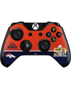 Denver Broncos Super Bowl 50 Champions Xbox One Controller Skin