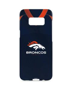 Denver Broncos Team Jersey Galaxy S8 Plus Lite Case