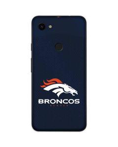 Denver Broncos Team Jersey Google Pixel 3a Skin