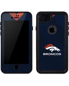 Denver Broncos Team Jersey iPhone 8 Waterproof Case