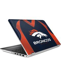 Denver Broncos Team Jersey HP Pavilion Skin