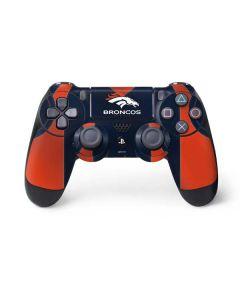 Denver Broncos Team Jersey PS4 Controller Skin