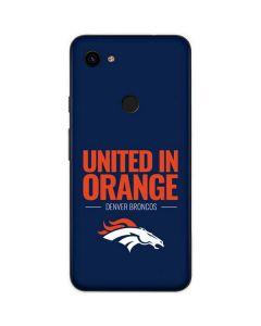 Denver Broncos Team Motto Google Pixel 3a Skin