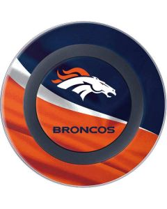 Denver Broncos Wireless Charger Skin