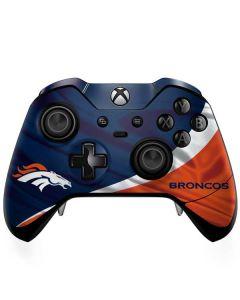 Denver Broncos Xbox One Elite Controller Skin